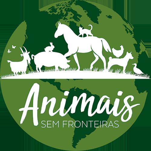 Logo dos Animais sem Fronteiras