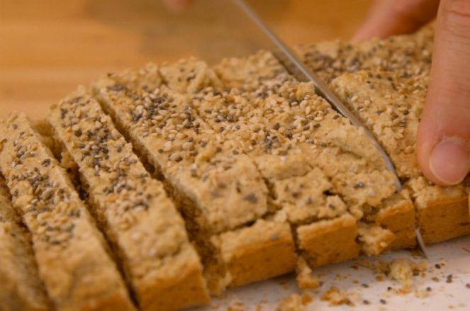 Pão rápido de aveia