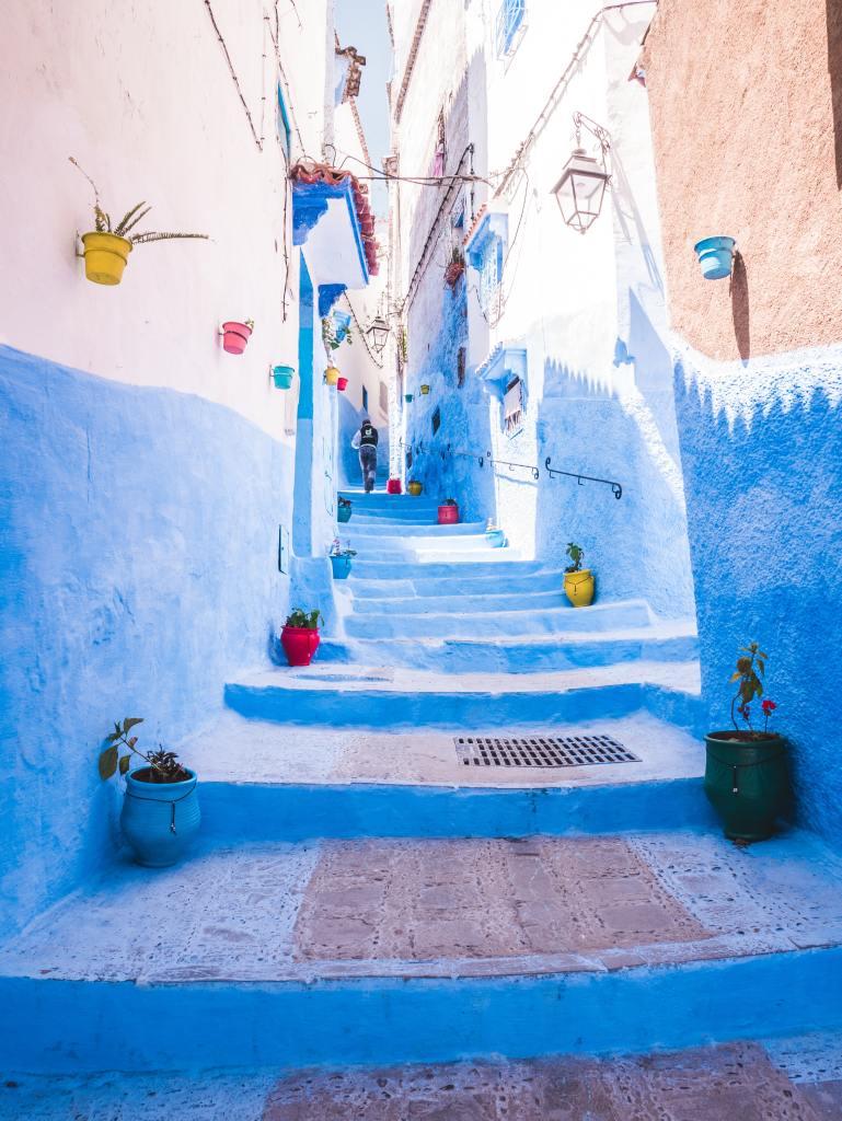 Rua em Marrocos