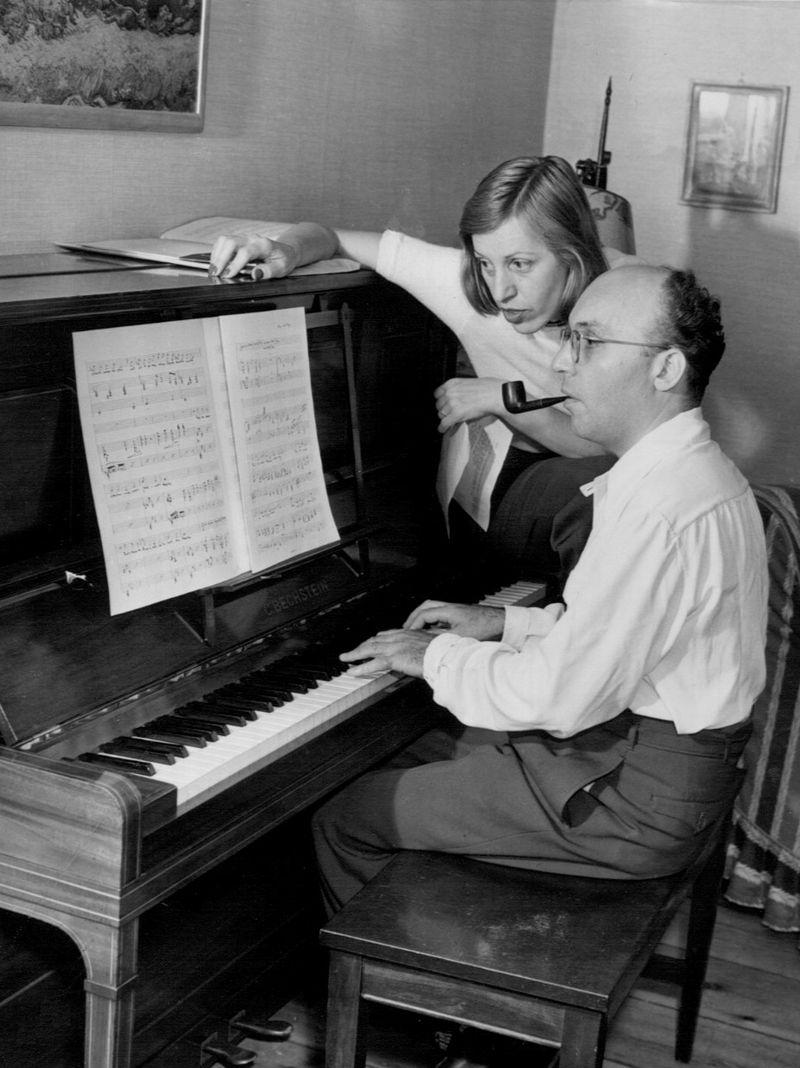 Kurt Weill e Lotte Lenya