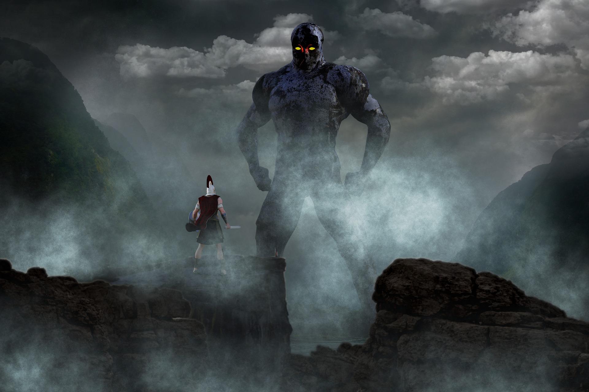 Lutando contra um gigante