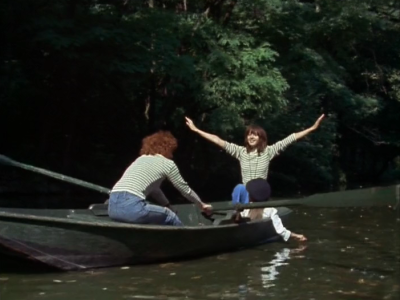 Foto do barco no filme