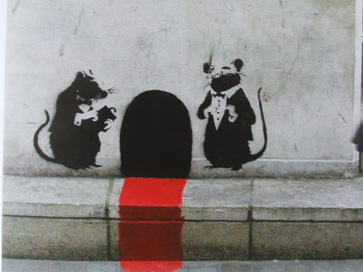 bansky, cerimónia de ratos