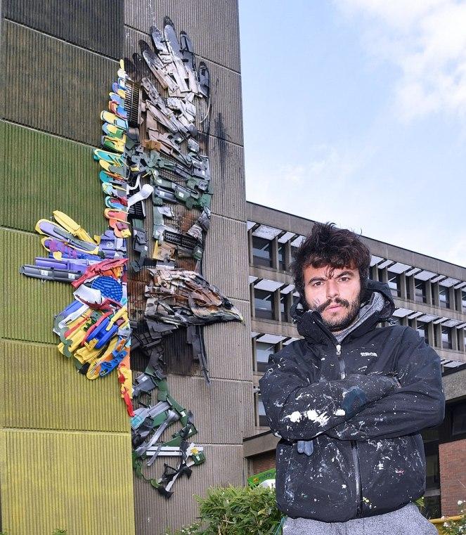 Artur Bordalo, grafiteiro e artista plástico português