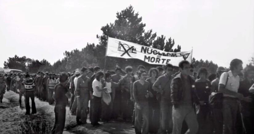 Concentração em Ferrel contra a Central Nuclear, 1976