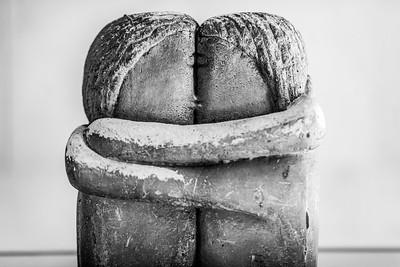 """""""O beijo"""" de Constantin Brancusi"""