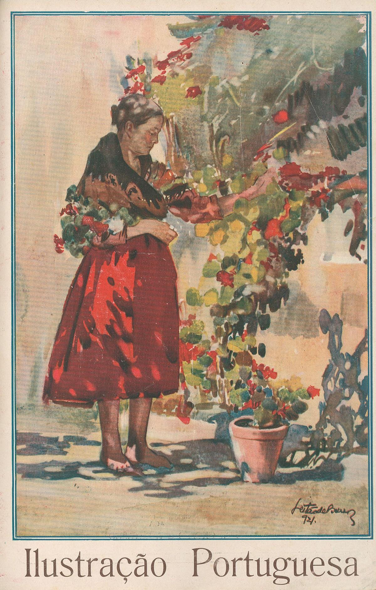 Ilustração Portuguesa, 2.ª série, n.º 840, 25 de Março de 1922, Leitão de Barros