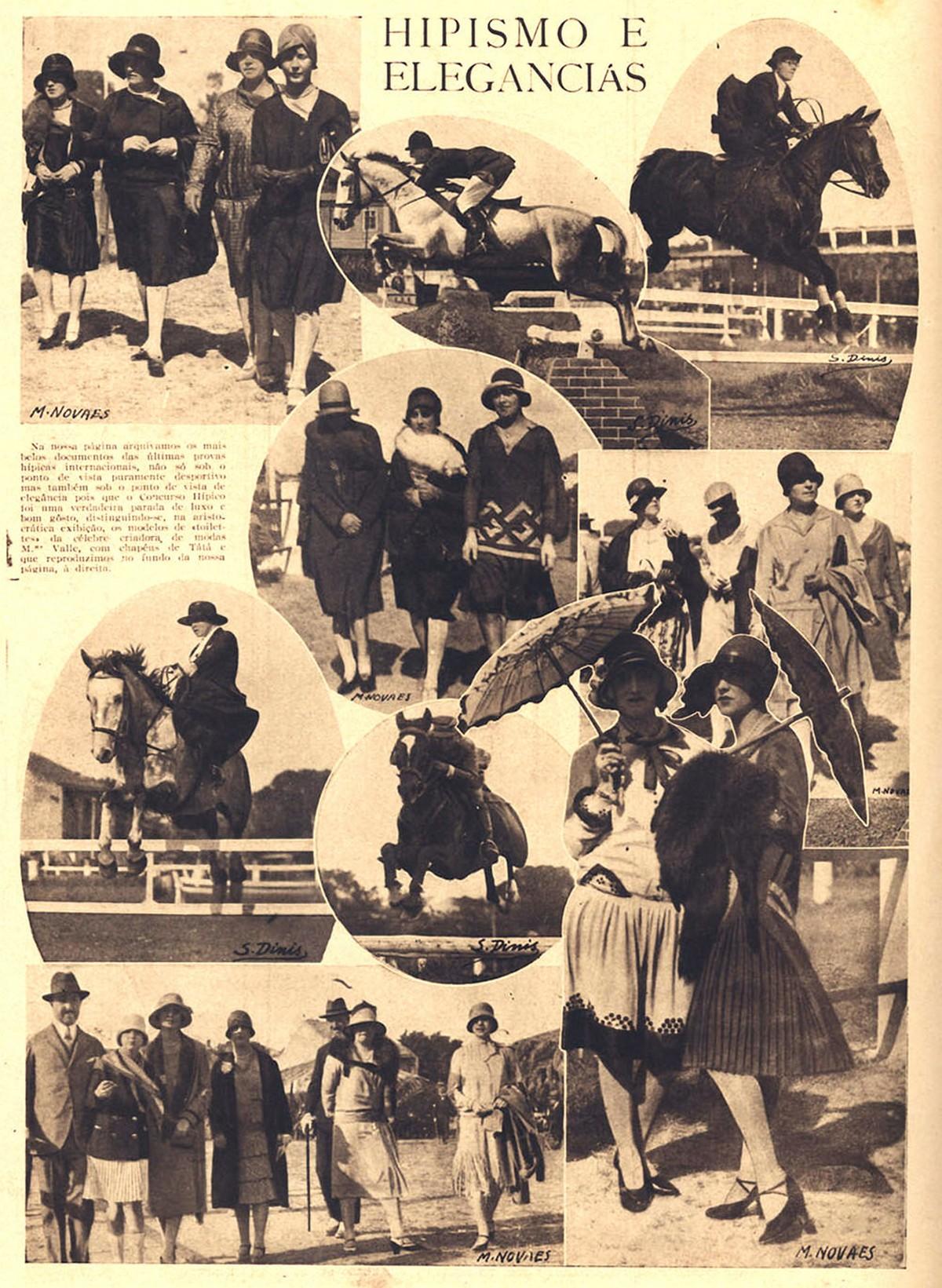 Concurso Hípico Internacional em Portugal, em 1928
