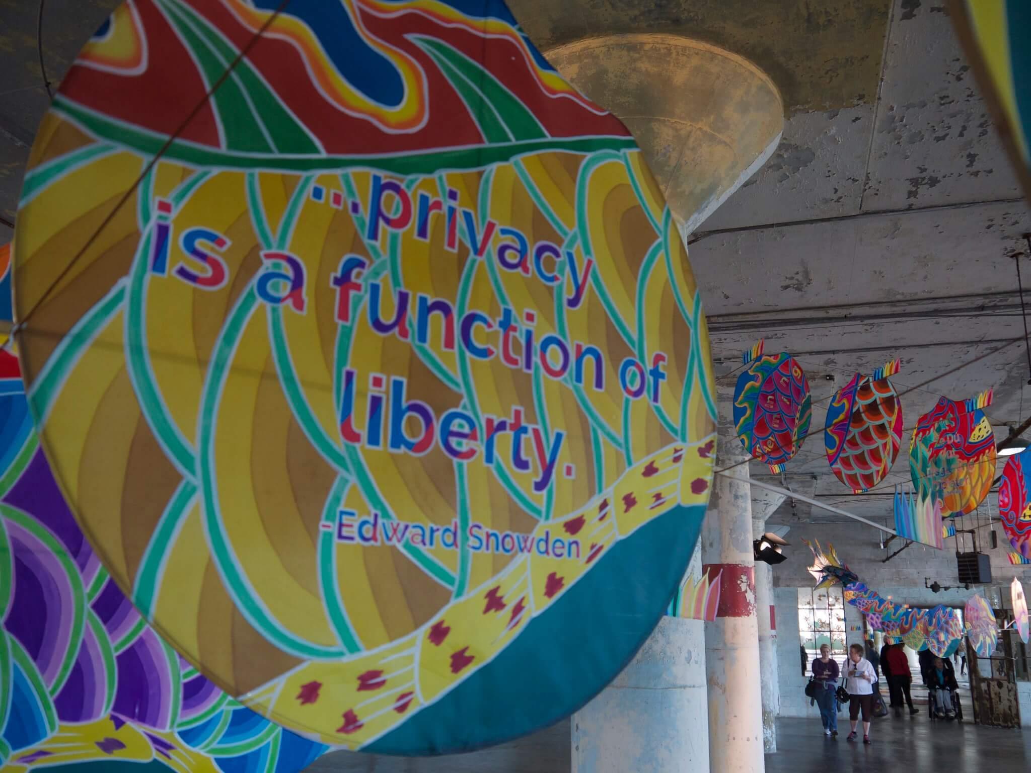 Ai WeiWei @Large on Alcatraz