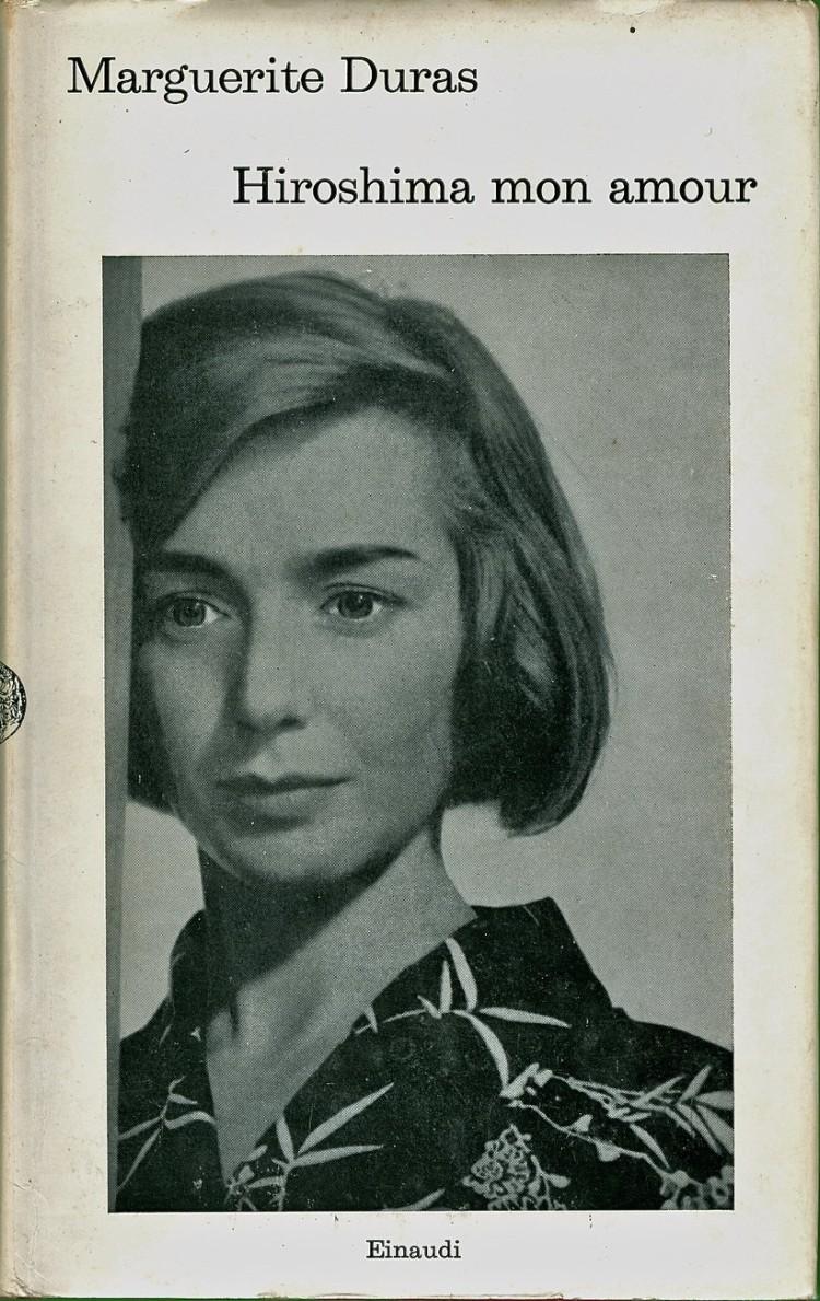 """Capa do livro """"Hiroshima mon amour"""" de Marguerite Duras"""
