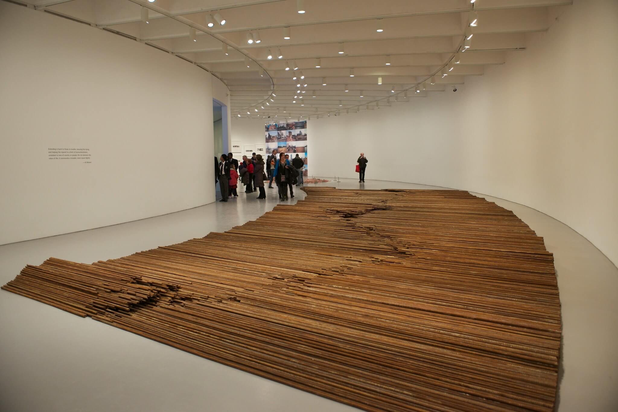 """Ai Weiwei: """"Straight"""""""