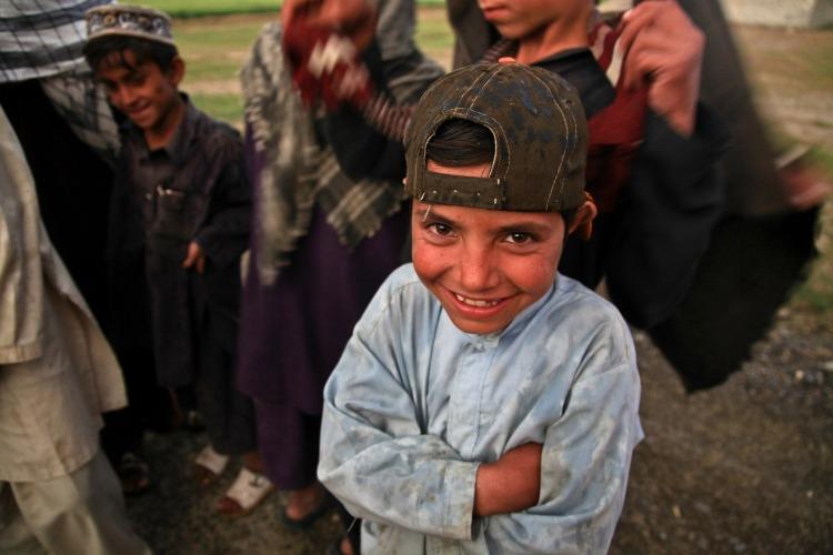 Criança no Afeganistão