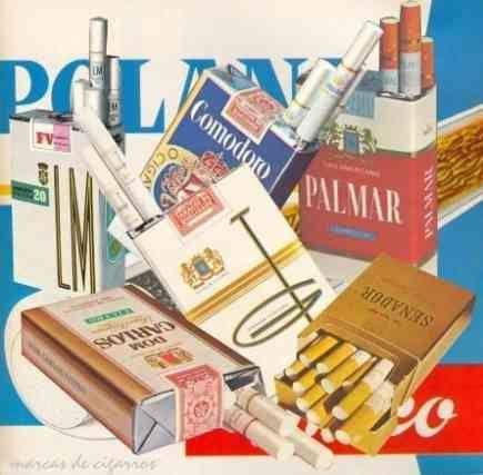 Cigarros de Moçambique anos 80