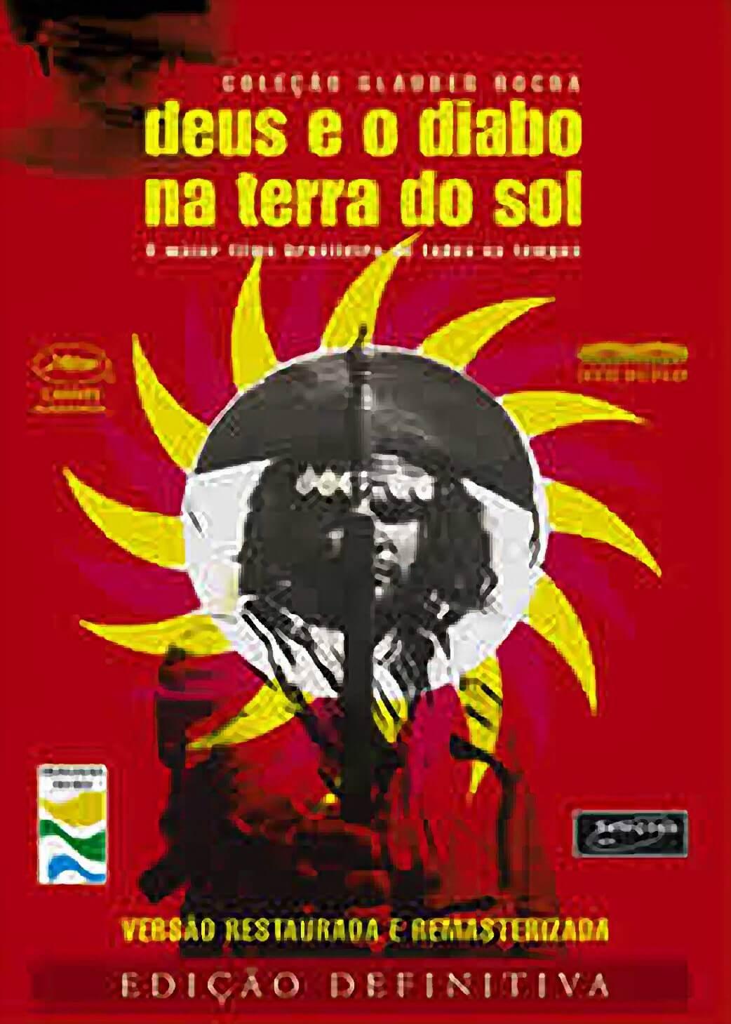 Cartaz de Deus e o Diabo na Terra do Sol, Glauber Rocha