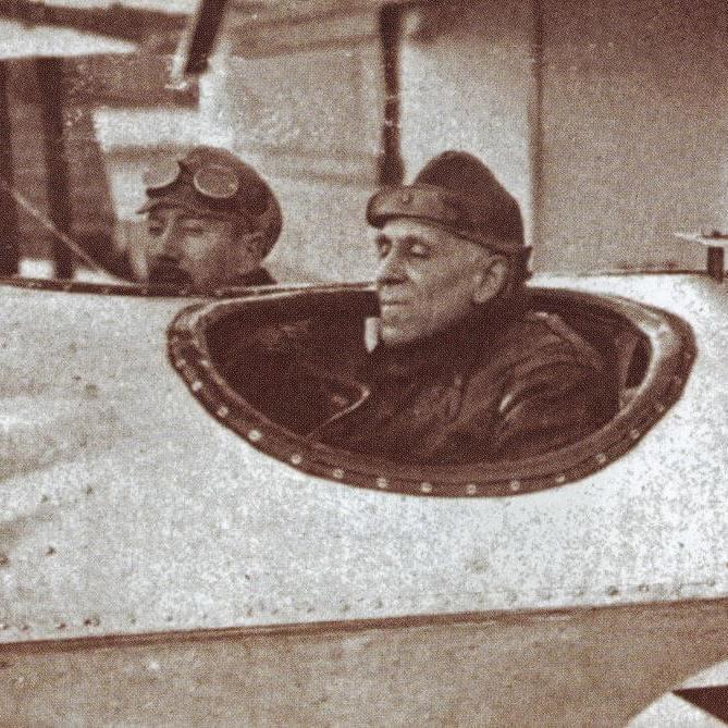 Gago Coutinho e Sacadura Cabral, 1922