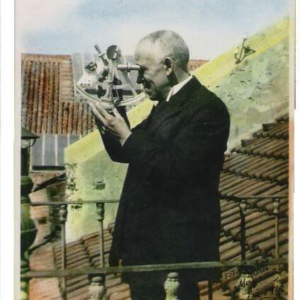Gago Coutinho, 28 September 2013, co o sextante