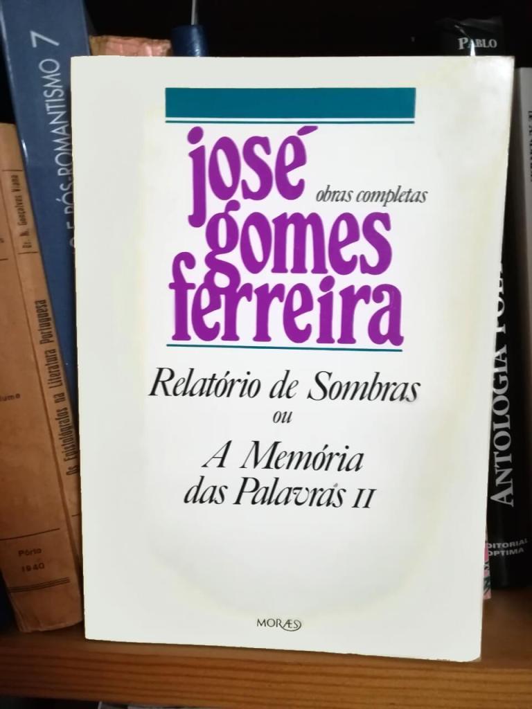 Relatório de Sombras, de José Gomes Ferreira