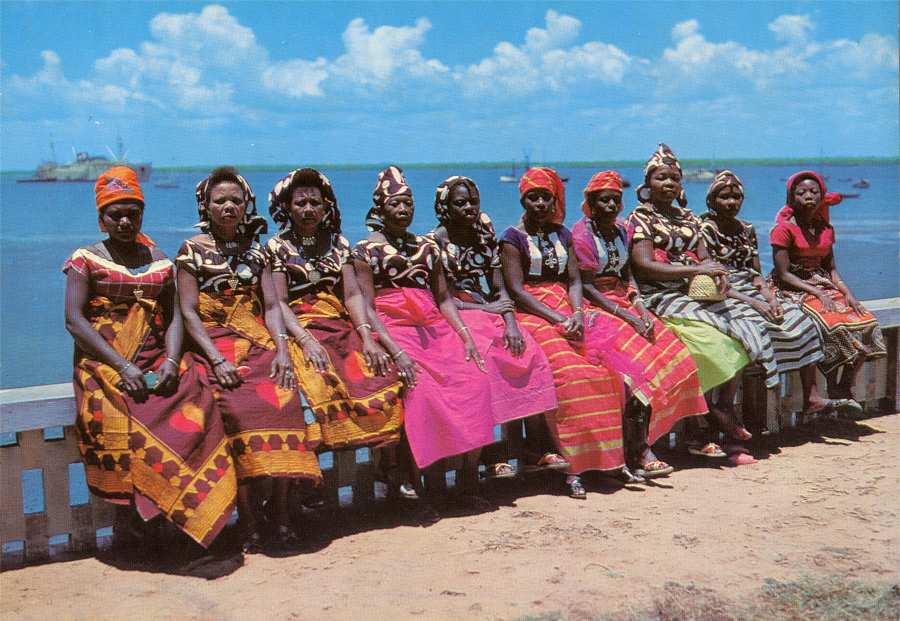 Mulheres da Ilha de Moçambique
