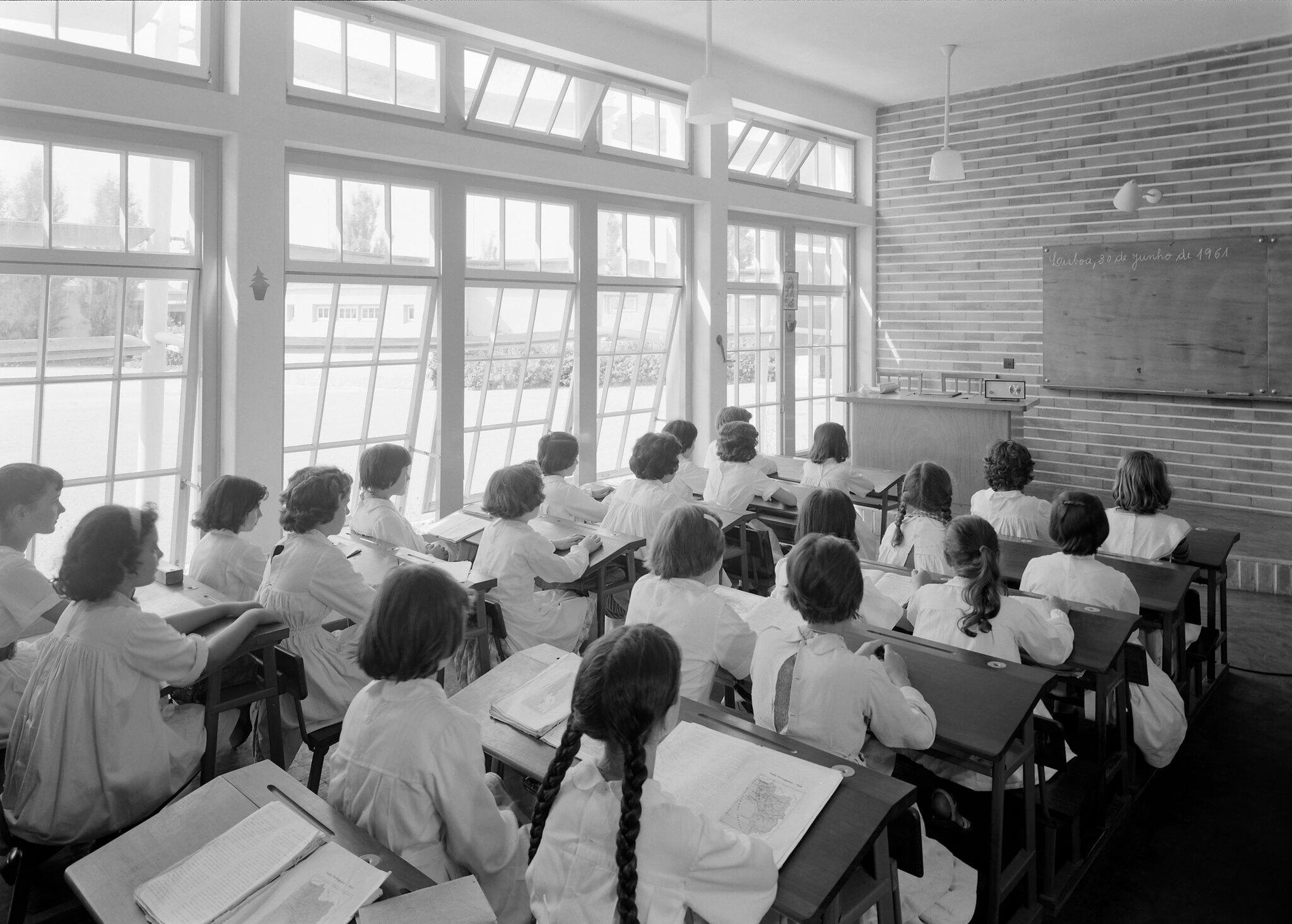 Escola Primária antiga, Lisboa, 1961