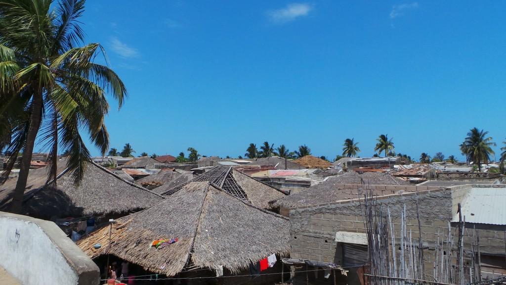 Parte sul da Ilha de Moçambique