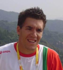 Emanuel Eduardo Pimenta Vieira da Silva é um velocista português na modalidade de canoagem. Foto de Doma-w, Wiki