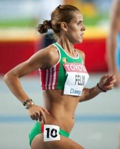 Ana Dulce Ferreira Félix é uma atleta de fundo e corta-mato. Foto de Erik van Leeuwen, 2011, Wikipedia