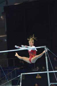 Ana Filipa Martins, nos trampolins em 2019