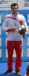 Canoista Fernando Pimenta conquista a medalha de bronze em Tóquio, na prova de K1 1000 metros
