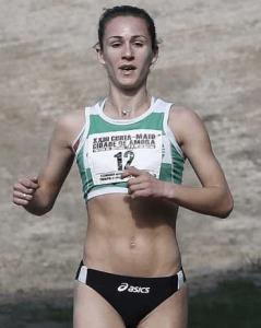 Carla Salomé Rocha é uma atleta portuguesa de fundo