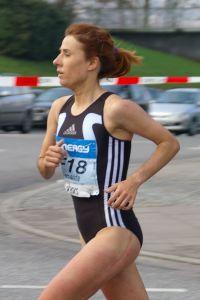 Maria Fernanda Moreira Ribeiro é uma atleta, especialista em corridas de fundo e meio fundo