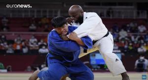 Jorge Fonseca, judo, aqui campeão do mundo em Tóqio 2019 instante de video da euronews