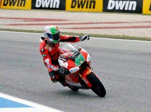 Miguel Ângelo Falcão de Oliveira, piloto de motociclismo, 2011 Estoril, foto de Jorge Meneses