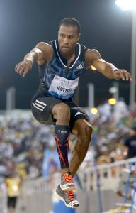 Nelson Evora, é um atleta português de origem cabo-verdiana