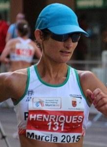 Inês Pereira Henriques é uma marchadora portuguesa, campeã e recordista mundial da marcha de 50 km