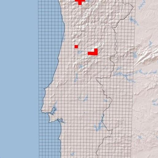 Distribuição, 166 registos, em Portugal